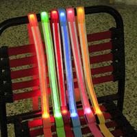 New5027Pet Nylon Leash Rope LED Flashing Light Dog Harness Colorful Safety Belt LeaderFree&Drop Shipping