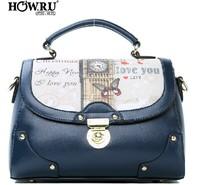 Fashion Women's PU leather Handbag lady's clutch bag girl's Messenger Bags Free shipping B0002