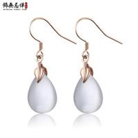925 silver rose gold - eye earrings women's fashion earring silver jewelry birthday gifts