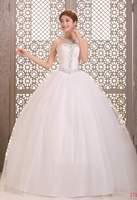 Fashion Wedding Dresses Crystal White Lace Bridal gown Off Shoulder Back Lace Up Floor Length Ball Gown Vestido de noiva X034