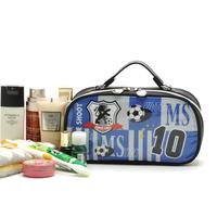 Hot sale promoation sport handbag football ad carton handbag unsex wholesale price cheap shinny pu leather shopping handbag