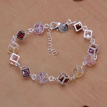 925 чистое серебро ювелирные изделия браслет модное браслет и SMTH220
