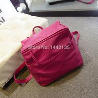 2014 new travelbag fashion trend handbags Korean women pU solid bucket -type shoulder bag