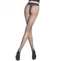 15D Core-Spun Yarns All-Match Women Sexy Pantyhose T-Crotch Ultrathin Tights Female Long OL Silk Hosiery XL1023