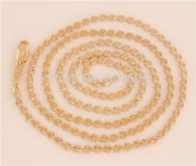Free Shipping! Factory Price 1pc 14K Gold Filled Thin 61cm Women /Men's Fashion Necklace (DIY PENDANT)TF562(China (Mainland))