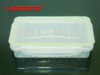 Waterproof 18650 battery storage box , transparent battery storage box, for  2 *18650 OR 4* 16340 battery