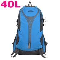 Best hiking Backpack men women shoulders bags 6 color outdoor sports shoulder  bag large capacity 40L mountaineering bags 40 L