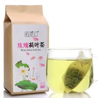 45 PCS/bag Lotus leaf tea roses High-grade health tea To raise colour tea A woman of tea To lose weight