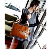 women genuine leather bag bolsas femininas clutch messenger bags designer handbags high quality vintage casual bag bucket bag