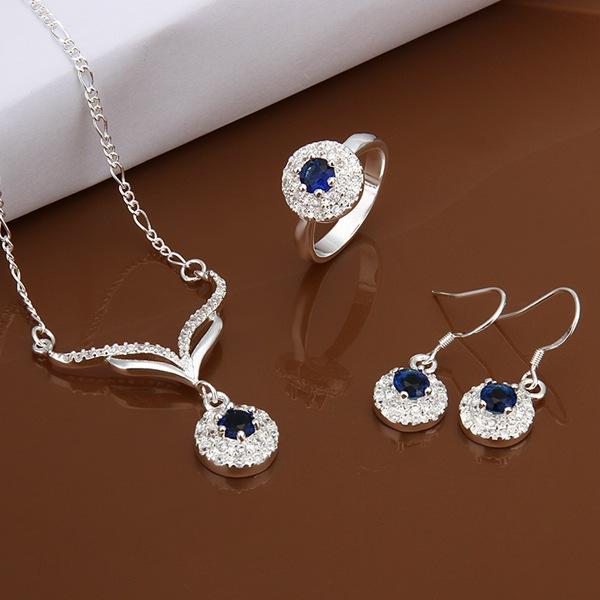 Ювелирный набор OEM S528 925 , /auzajmga gldapcka jewelry sets браслет цепь magic jewelry 925 oem