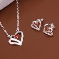 S513 925 sterling silver jewelry set, fashion jewelry set necklace earring /aukajlra gkoapbva