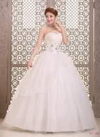 Cheap Wedding Dresses Criss-Cross Bridal gown Off Shoulder Ball Gown Natural Strapless Vestido de noiva X028