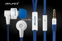 2014 NEW arrival Original brand High-end Awei ES 710i Super Bass HiFi Headphones Earphones W/Mic For i Phone/iPad/Samsung Galaxy