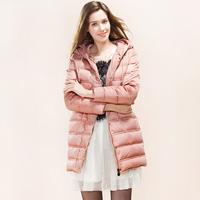 2014 winter Koren style  women down jacket free shiping
