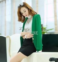 Spring 2014 New Arrival Large Size Jacket Women Short OL Small Suit Blazer Women Blazer Feminino M-XXL B11 CB031302