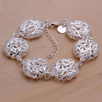 Free shipping 925 sterling silver jewelry bracelet fine fashion bracelet top quality wholesale and retail SMTH235
