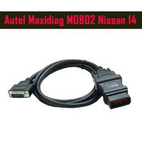 2014 NEW Autel Maxidiag MD802  DB15 Male  adaptor for Honda 14 Pin OBD1 extension cable 1.5M