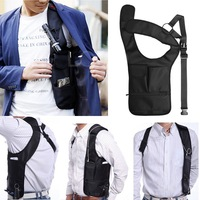 2014 New arrival Invisible Oxter Bag Outdoor Sports Vest Hidden Underarm Pocket Shoulder Bag Free shipping