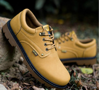 Fashion men casual shoes leather sneakers for men outdoor Tooling boots men sports casual boots 2014 shoes men 39 to 44