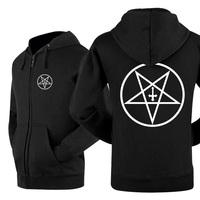 2014 new winner autumn hot sell classics zipper LEISURE WEAR lover`s hoodie SATAN