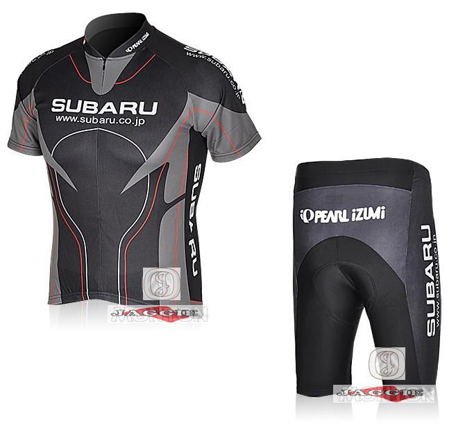 Free shipping! SUBARU 2012 racing team cycling jersey and shorts / short sleeve jerseys pants bike bicycle riding wear set(China (Mainland))