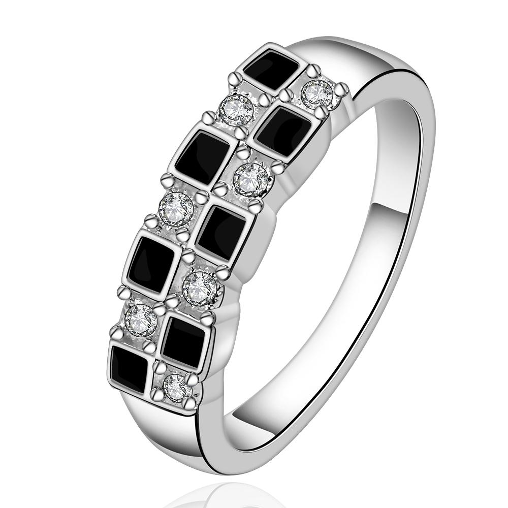 fashion brand 925 silver ring cubic zirconia male men anel masculino anillos mens rings bijuteria JZ5035(China (Mainland))