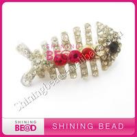 high quality rhinestone fish brooch pins and animal brooch