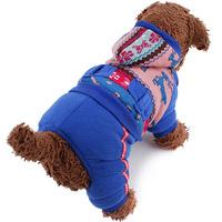 Fashion Hot Deer Set Four Leg Coat Pet Clothes for Pet Dogs