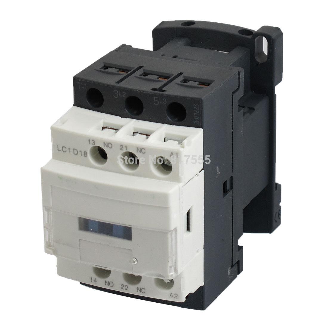 LC1D18 Motor Control AC Contactor 220V 50 60Hz Coil 32 font b Amp b  #5A5047