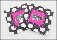 Food-grade Crown Paper Napkin Festive & Party Tissue Napkin Supply Party Decoration 33cm*33cm 1pack/lot
