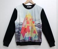 Mountains Tide 3D Printed Sweater For Women Men Sweatshirts Tops Long Sleeve