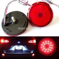 Red Lens LED Rear Bumper Reflector Tail Brake Light for Toyota Highlander Sequoia ZRR70 Voxy/Noah
