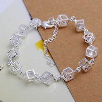 Free shipping 925 sterling silver jewelry bracelet fine fashion bracelet top quality wholesale and retail SMTH241