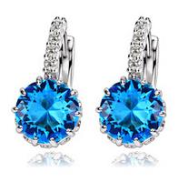 Elegant fashion earrings ear female earrings women  birthday gift drop earrings