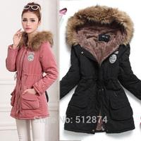 winter down jackets 2014 high quality brand women parka women winter coat women winter lambs wool cotton jacket plus size XXXL