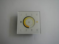 2.4G LED D7 Touch Panel RGB Controller Multi-Zone Color Temp Dimmer RGB Light DMX512 RF with tracking number