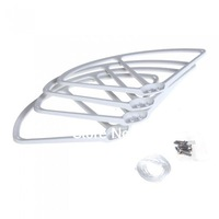 4Pcs Propeller Prop Protective Guard Bumper Protector for DJI Phantom 1 2 Vision Quadcopter White
