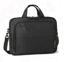 Free shipping retail hot sale new black nylon laptop bag men laptop bag 14-15 inch computer accessories, laptop bag(China (Mainland))
