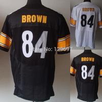 Hot!!!#84 Antonio Brown Jersey,Elite Football Jersey,Best quality,Authentic Jersey,Size M L XL XXL XXXL,Accept Mix Order