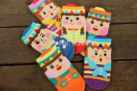ladies socks birthday party cute Japanese cartoon socks  large new winter over 11 years old kid