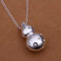 N304 Free Shipping 925 sterling silver Necklace, 925 silver fashion jewelry fashion necklace  /asdajjka edtamvaa