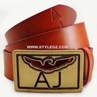 NEW Belt Designers Brand Men Famous Cowhide Brown Belt Women Fashion Genuine Leather Belts cinto de couro DS129#51