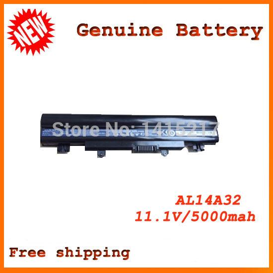 Brand New Original laptop battery For ACER Aspire E14 E15 Touch E5-572G E5-572G-593Y AL14A32 batteries(China (Mainland))