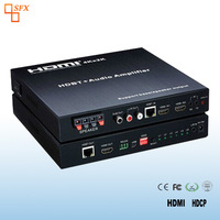 3x2 HDMI HDBT Audio Amplifier Support 4K support UTP extend to 100m