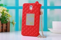For Samsung Galaxy Note 3 Hello Kitty Mirror Phone Case Bag With Chain, New Hello Kitty Case for Note 3