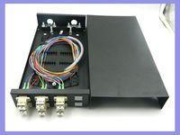 6 ports LC duplex patch panel