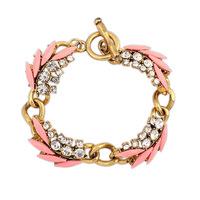 Vintage retro leaves bracelets bracelets gold geometry Bracelets & Bangles CB041