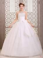 Cheap Wedding Dresses Crystal Brust Bridal gown Off Shoulder Natural Floor Length Strapless Ball Gown Vestido de noiva X038