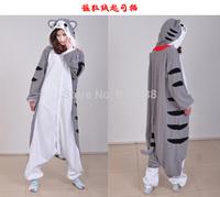 Cheese Cat Cartoon Fashion Animal Pajamas Anime Cosplay Costumes Unisex Adult Onesies Dress S/M/L/XL