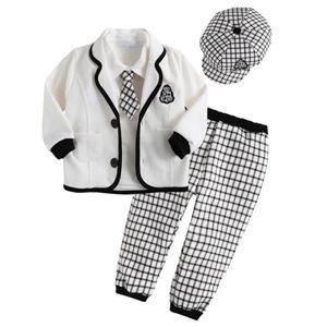 nova chegada 2015 roupas de outono academia meninos estilo conjuntos de roupas com o padrão de xadrez que venda quente(China (Mainland))